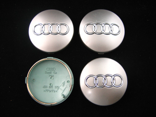 Audi Wheel Cap Mm Set Of Pcs - Audi wheel center caps