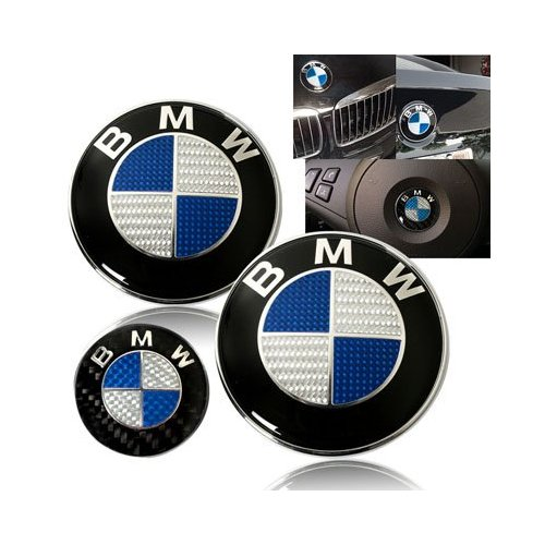 bmw carbon fiber hood emblem trunk emblem steering wheel. Black Bedroom Furniture Sets. Home Design Ideas